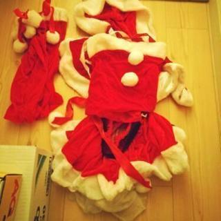 サンタコス。コスプレ。衣装。