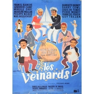 1960's フランス映画 ビンテージポスター ①