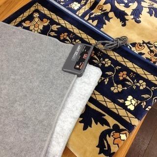 ホットカーペット 2畳 モリタ 絨毯 カバー付き 電気