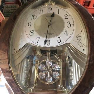キラキラ振り子 時計