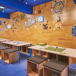 神楽坂のボードゲームカフェ