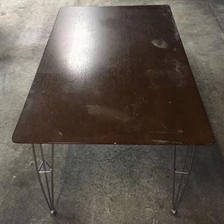ダイニングテーブル 机 四人用テーブル 引き取り限定