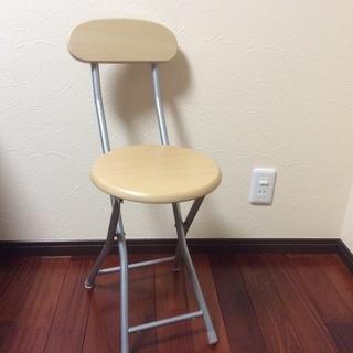 折りたたみ式椅子3脚(1脚ずつでもOK)