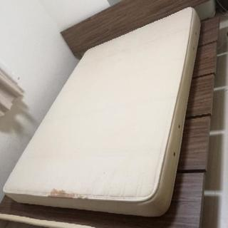 中古ベッド masterpiece  キングフレーム ダブルマットレス