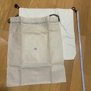 新品‼️大きなきんちゃく袋 2点セット ホテルブランド 巾着