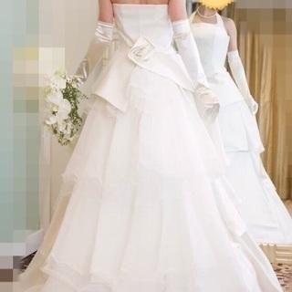 ウエディングドレス カラードレス パニエ
