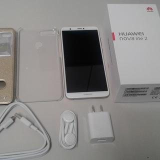 SIMフリー Huawei nova lite 2 ゴールド ほ...