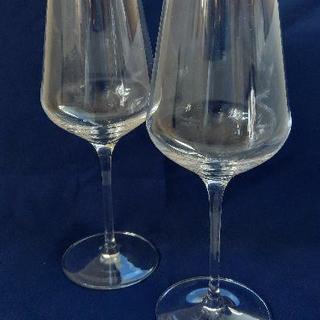 【未使用】ドイツ製ワイングラス 2脚1箱セット