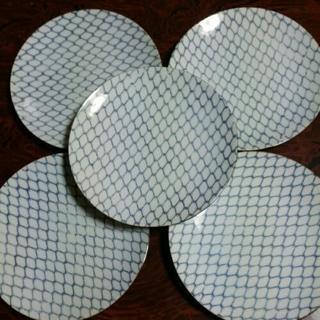 レトロ食器 肥前焼き 萬泉 SHOWA-CHINAの中皿5枚