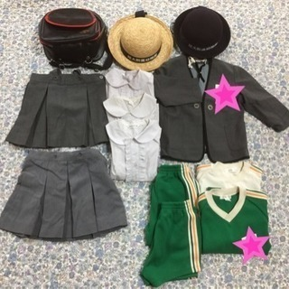 《関西女子短期大学付属幼稚園》制服・鞄など*おまけ付*