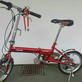 【リサイクルスターズ】 新入荷! JEEP(ジープ)折りたたみ自転...