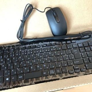 新品♪キーボード&マウス 有線