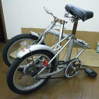 SPALDINGの折りたたみ自転車 5000円