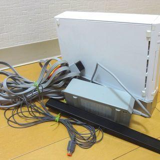 Nintendo 任天堂 Wii 本体 RVL-001  AVケ...