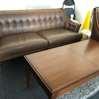 アンティーク家具@ソファとテーブルの三点セット@地中海シリーズ サ...