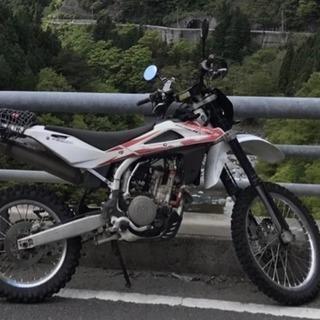 【再投稿】値下げ交渉可 オフロードバイク ハスクバーナ TE25...