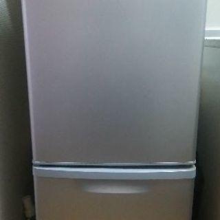 2ドア冷蔵庫 Panasonic 型式NR-B146W 2014年製