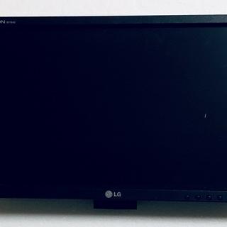 LG19インチワイドモニタ 中古 HDMIアダプタ付