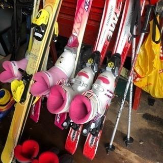ジュニア用スキーセット シーズン貸出