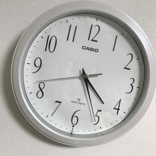 CASIO壁掛け電波時計