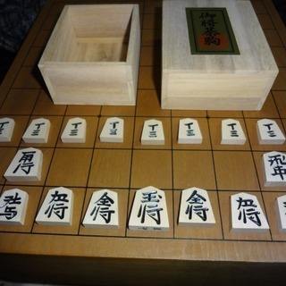 将棋の駒(箱付きほぼほぼ新品)