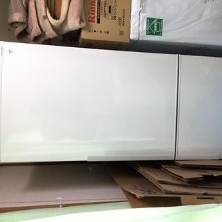 SHARP 2ドア冷蔵庫 SJ-PD27B-W 2016年製