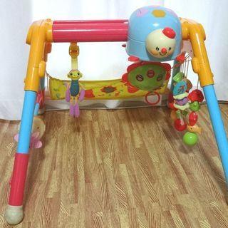 ■新うちの赤ちゃん世界一全身の知育メリー&ジム ベビー 赤ちゃん おもちゃ BABY ベイビー TOY トイ 乳児 ピープル Peopleの画像