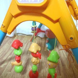 ■新うちの赤ちゃん世界一全身の知育メリー&ジム ベビー 赤ちゃん おもちゃ BABY ベイビー TOY トイ 乳児 ピープル People - おもちゃ