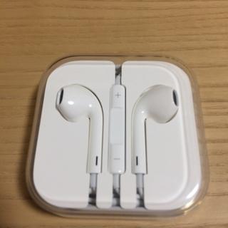 [新品]  Apple純正 iPhone イヤフォン