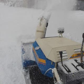 過疎地域での屋根の雪下ろしや除雪機での除雪作業は便利屋HOT伊藤まで − 北海道