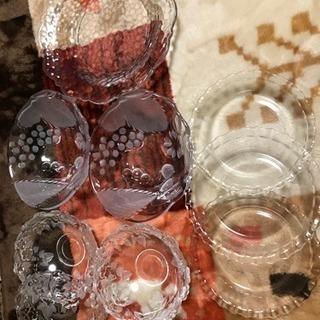 ガラス皿 9点  新品 お値下げしました!