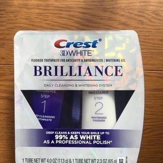 クレスト歯磨き粉3D ホワイトブリリアンス