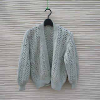 手編みのカーディガン7
