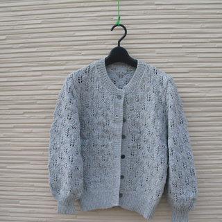 手編みのカーディガン6 シミあり