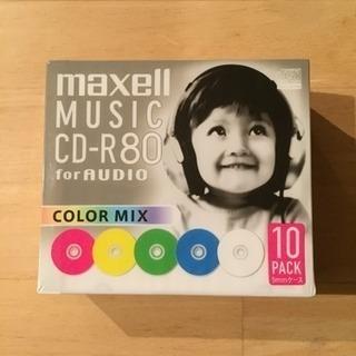 maxell CD-R80 カラー5色 10枚セット