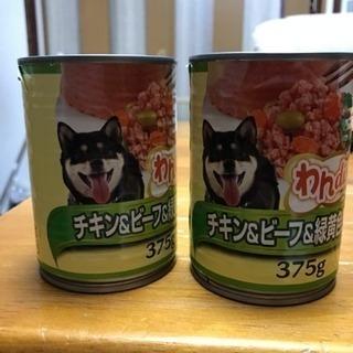 ドッグフード 缶詰  ワンディシュ375グラム10缶