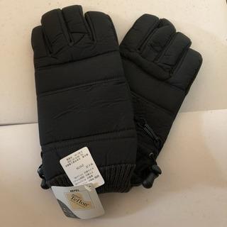 メンズ手袋★ブラック★新品