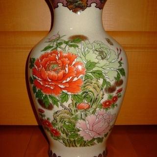 ★文峰謹製 陶器 大型 花瓶/花器/花入れ/飾り壷  未使用