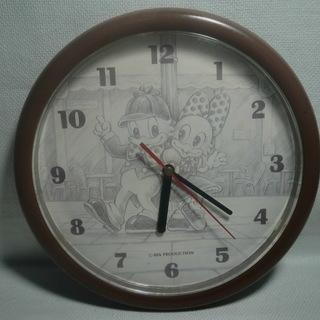 ディズニードナルドダック&ディジーダック壁掛け時計