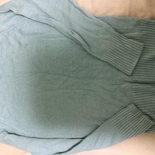 水色 セーター ニット Mサイズ