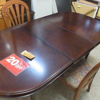 食卓テーブル 椅子2客付き 20%off