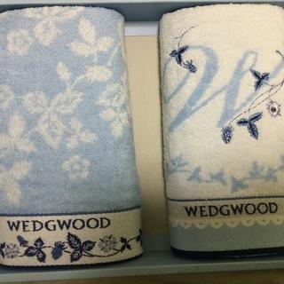 新品未使用品 ウェッジウッド WEDGWOOD タオル フェイス...