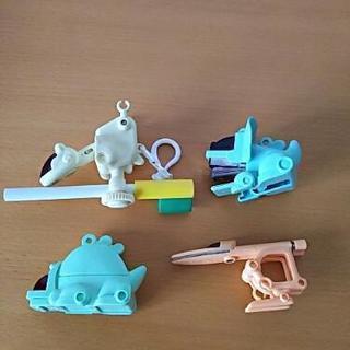 バンダイの文具 レア 4ヶ  日本製