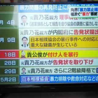 テレビ 43型 maxzen ほぼ新品!