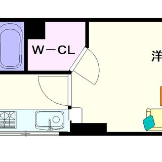 【マスターズレジデンス桜川Ⅱ】1号タイプ!1Kタイプ!収納たっぷり...
