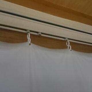 防寒シート(カーテン掛けタイプ) 2枚セット