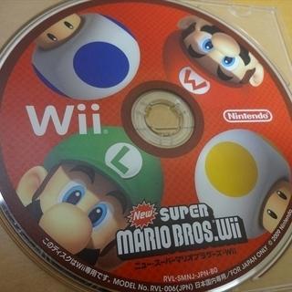 ニュー・スーパーマリオブラザーズ Wii ディスクのみ ニンテン...