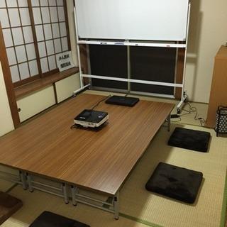 机 会議テーブル ローテーブル 値下げしました!