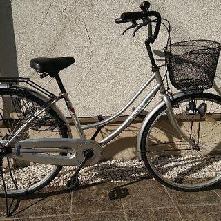 中古の自転車をさしあげます