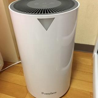 【今日まで】Pureplove空気清浄機 イオン除菌